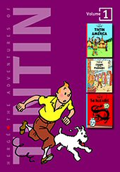 cover: The Adventures of Tintin #1