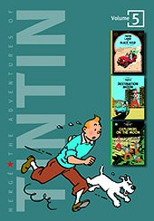 cover: The Adventures of Tintin #5