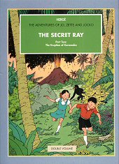 cover: The Secret Ray, Volume 2: The Eruption of Karamako
