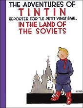 cover: Tintin in the Land of the Soviets