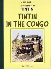 cover: Tintin in the Congo