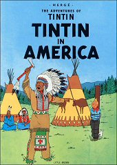 cover: Tintin in America