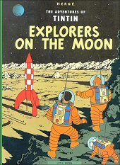 cover: Explorers on the Moon