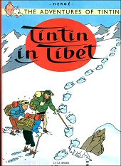 cover: Tintin in Tibet