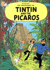 cover: Tintin and the Picaros