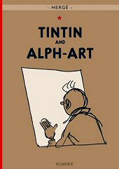 cover: Tintin and Alph-Art