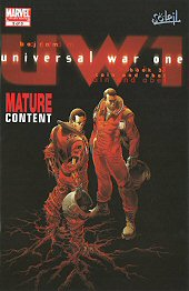 cover: Universall War One #3
