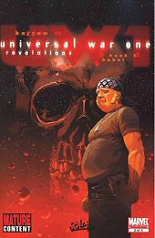 cover: Universall War One - Revelations #2