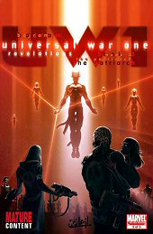 cover: Universall War One - Revelations #3
