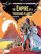 cover: Valerian - The Empire of a Thousand Planets