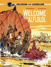 cover: Valerian - Welcome to Alflolol