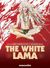 cover: The White Lama