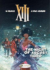 cover: XIII - The Night of August Third